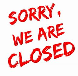 Buddies is now closed including Take Aways